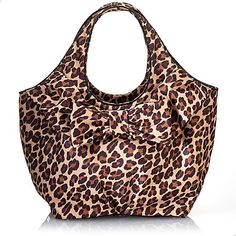 Kate Spade Leopard Bow Tote