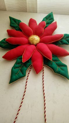 Brooch, Christmas Ornaments, Needlepoint, Brooches