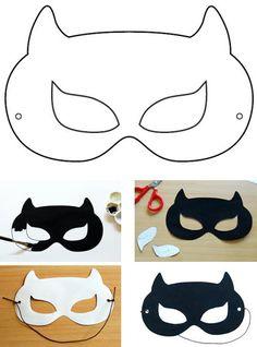 Masques de super h ros faire soi m me activt s avec - Masque de super heros a imprimer ...