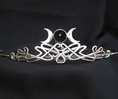 Wedding Circlets And Head Dresses | Moon Goddess Bridal Wedding Circlet Tiara Renaissance Headdress ...