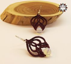 Tutorial: Romantic beaded earring