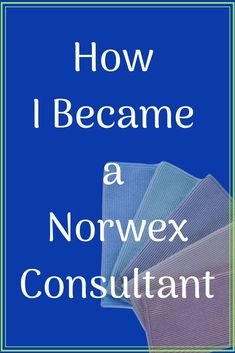 Becoming a Norwex Consultant is one of the best decisions I've ever made. It brings a smile to my face every day. via @elesamarie #norwex #norwexconsultant #safehaven