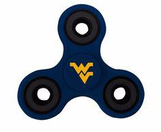 West Virginia Mountaineers Blue Fidget Spinners Fidget Spinners, New West, West Virginia, Blue