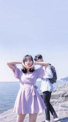 Korean Drama List, Korean Drama Movies, Ulzzang Couple, Ulzzang Girl, Kdrama Actors, Drama Korea, Korean Men, Sweet Couple, Celebs