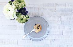 Marzipan-Hefeschnecken mit Blaubeeren | This Pretty Little Thing