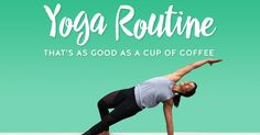 Whether your drink of choice is coffee, tea, matcha chai or anything in between, the sense of warmth and ritual that a morning beverage brings is a great way to start the day. A quick yoga session is another way to energize your body and mind. This mini yoga flow is designed to help you awaken to the world so that you can show up more fully in all...