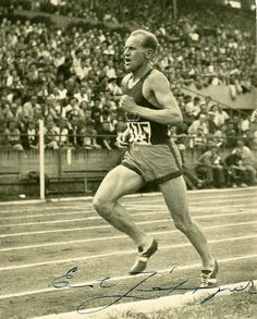 Emil Zatopek, one of the greatest, kindest runners ever. In 1952, he won Olympic gold medals in the 5k, 10K, and marathon, a feat no other runner has ever matched.