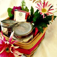 All Natural Skin Care Gift Basket Personalized by LatheroftheLand