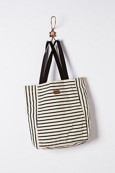 Stripe-Play Tote | Anthropologie