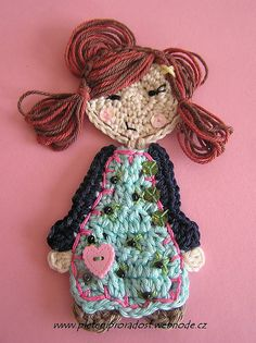 Ravelry: Sweet girl application pattern by Vendula Maderska