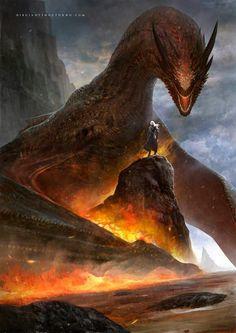Game of Thrones Illustrations - Created by Francisco Garcés Fantasy World, Dark Fantasy, Fantasy Art, Game Of Thrones Dragons, Game Of Thrones Art, Game Of Thrones Illustrations, Sublime Creature, Cool Dragons, Dragon Artwork