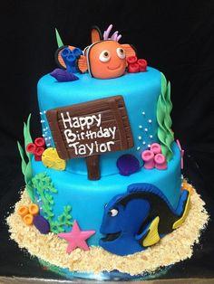 Nemo and Dory Cake - by Sweetessa @ CakesDecor.com - cake decorating ...