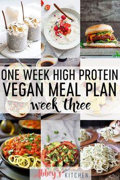 Vegan meal plans