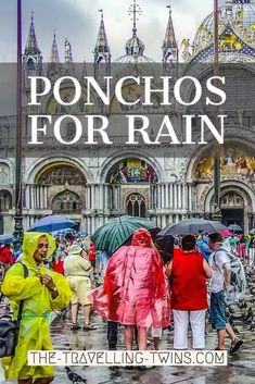 9 Best Ponchos for Rain - The Travelling Twins Lean To Shelter, Waterproof Poncho, Adventure World, Travel General, Rain Poncho, Charles River, Lightweight Backpack, Rainy Days, Travelling