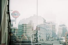 35mm film with Zenit 12XP Double Exposure within London