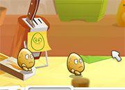 Un divertido e inusual juego en donde los protagonistas son pequeños huevos a los que debes impedirles el paso de tu cocina, para esto te...