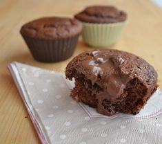 Muffin dolci ripieni di nutella Le Ricette di Tina