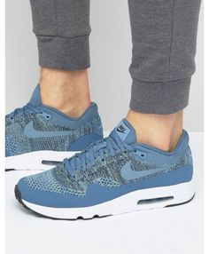 new style 0aadc f272c Nike Air Max 1 Ultra 2.0 Flyknit Trainers In Blue