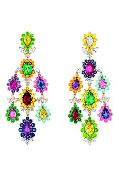 Dior Joaillerie's Cher Dior Exquise earrings. [Courtesy Photo]