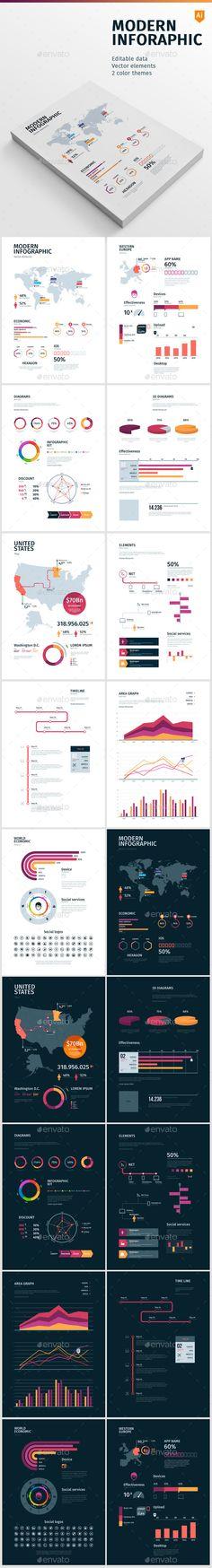 Modern Infographic - Infographics