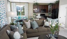 Ponderosa - Family Room | Ponderosa floor plan | Richmond American Homes | ,  |