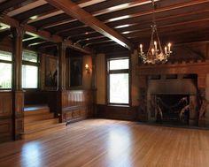 Another stunning room - got to love the fireplace gargoyles. Stimson-Green Mansion circa 1901 Seattle, WA.