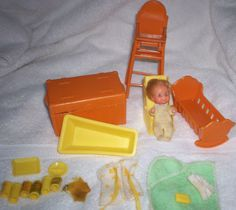 Sunshine Family Baby & Accessories #DollswithClothingAccessories