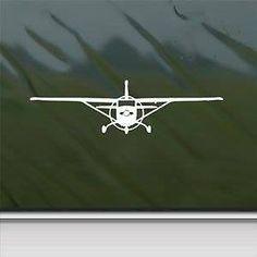 CESSNA AIRCRAFT CORPORATION DECALS  SET OF 2 CLASSIC
