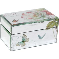 Butterfly  Flower Theme Love Box.