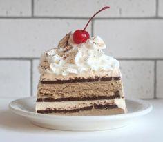 Easy Espresso Ice Cream Cake