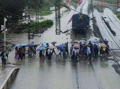 #NEWS #SWD #GREEN2STAY Heavy rain torments coastal T.N.,brings life to a halt in Chennai