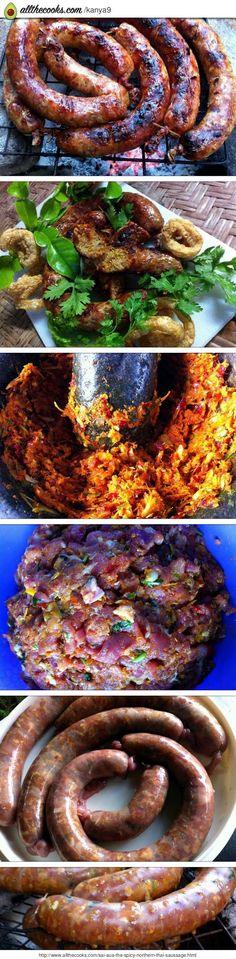 Sai Aua / The Spicy Northern Thai Saussage!