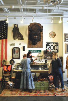 Inspiration LA vintage shop