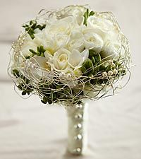 The FTD® Evermore™ Bouquet though with calla lilies