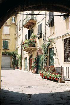 Lucca, Italia #travel #places