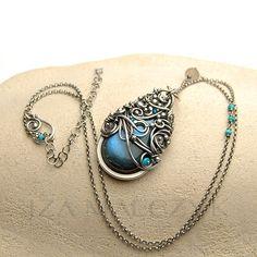 the Patronus necklace by Iza Malczyk