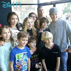 """Girl Meets World"" Cast Together To Celebrate Peyton Meyer's Birthday November 24, 2013"