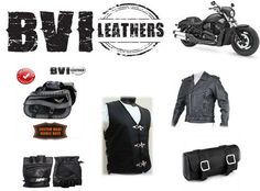 #Leather Biker Jacket - BVI Leathers