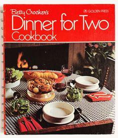 Vintage Cookbook, Betty Crocker Cookbook Dinner For Hc 1970s Kitchen, Dinner For Two, Betty Crocker, Plan Design, Etsy Shipping, Dinner Table, Vintage Children, Meal Planning, Kids Shop