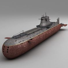 Submarine Model available on Turbo Squid, the world's leading provider of digital models for visualization, films, television, and games. Model Warships, Russian Submarine, Scale Model Ships, Nuclear Submarine, Concept Ships, Boat Stuff, Super Yachts, Navy Ships, Military Equipment