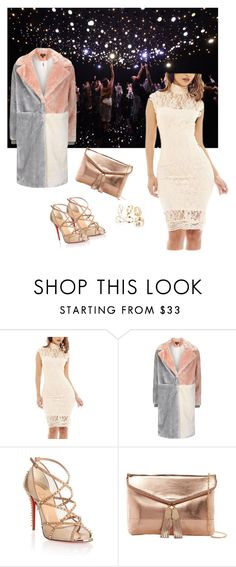 """""""Untitled #334"""" by elma-alibasic ❤ liked on Polyvore featuring AX Paris, Topshop, Christian Louboutin and Urban Expressions"""