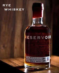 Reservoir Straight Rye Whiskey is Reservoir Distillery's interpretation of a classic american whiskey self described as strong and sharp.