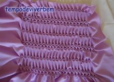 Interesting American smocking variation with diagrams.T E M P O D E V I V E R B E M: Capitonê M I L