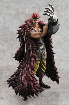 One Piece Excellent Model P.O.P PVC Statue 1/8 Eustass Captain Kid Limited Edition 26 cm  One Piece - Hadesflamme - Merchandise - Onlineshop für alles was das (Fan) Herz begehrt!