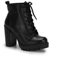 Bota Coturno Moleca Tratorada - Preto Dream Shoes, Crazy Shoes, Me Too Shoes, Grey Heels, Black Shoes, Fashion Heels, Fashion Boots, Snake Boots, Aesthetic Shoes