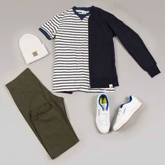 This week's outfit grid is a relaxed look with new pieces from @adidas and @edwineurope to take us into the milder spring months. To find out more about the pieces featured and how to wear the look head over to our blog (blog.fatbuddhastore.com) now @fatbuddhastore #fatbuddhstore #glasgow #carharttwip #carhartt #reebok #adidas #edwin #edwineurope #outfitgrid #igs #igers #igdaily #instadaily #instastyle #style #stylegram #wdywt #dailygram #fashion