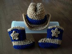 COWBOY baby Hat & Boots