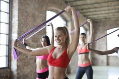 Barre has been a popular fitness class for years now, inspired by ballet, Pilates, yoga, and strength training. But what exactly is a barre workout? Fitness Workouts, Sport Fitness, Fun Workouts, At Home Workouts, Muscle Fitness, Workout Routines, Workout Tips, Fitness Equipment, Fitness Motivation