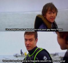 love Justin (and harry Potter and little boy from Modern Family)