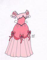 Ariel paperdoll dress #7 by Etchingz